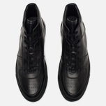 Мужские кеды Common Projects B-Ball High Leather Black фото- 4