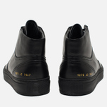 Мужские кеды Common Projects B-Ball High Leather Black фото- 3
