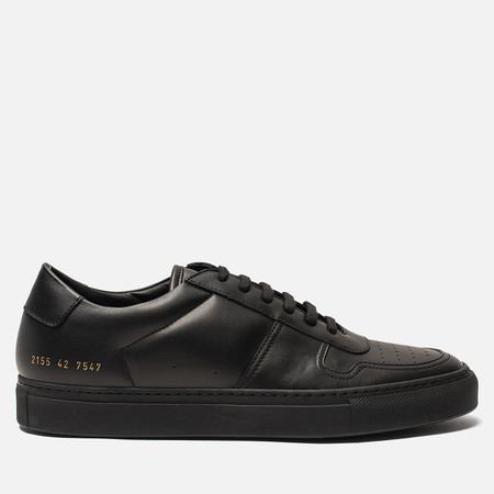 Мужские кеды Common Projects Bball Low Leather Black