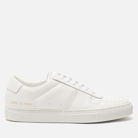 Мужские кеды Common Projects Bball Low Leather White