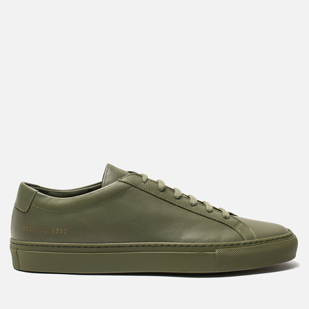 Мужские кеды Common Projects Original Achilles Low Army Green