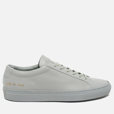 Мужские кеды Common Projects Original Achilles Low Grey