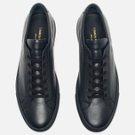 Мужские кеды Common Projects Original Achilles Low Navy фото- 4