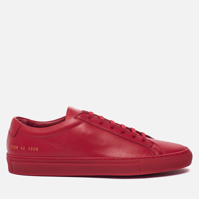 Мужские кеды Common Projects Original Achilles Low Red
