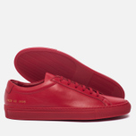 Мужские кеды Common Projects Original Achilles Low Red фото- 1
