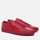 Мужские кеды Common Projects Original Achilles Low Red фото- 2
