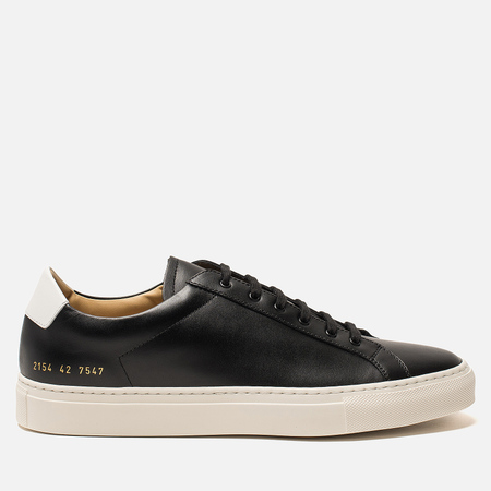 Мужские кеды Common Projects Retro Low Black