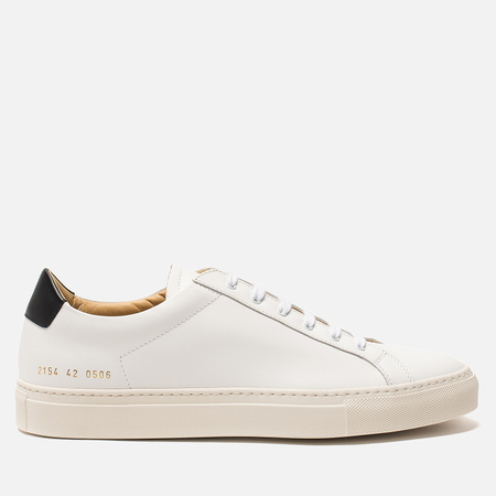 Мужские кеды Common Projects Retro Low White