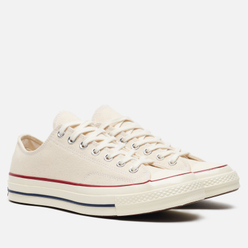 Мужские кеды Converse All Star Chuck 70 Low Parchment/Garnet/Egret