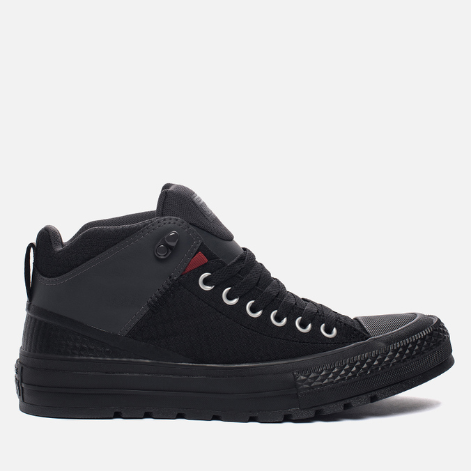 Мужские кеды Converse All Star Street Boot High Black/Terra Red/Almost Black