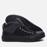 Мужские кеды Converse All Star Street Boot High Black/Terra Red/Almost Black фото- 2