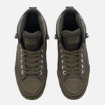 Мужские кеды Converse All Star Street Boot High Medium Olive/Black фото- 4
