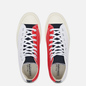 Мужские кеды Converse Chuck 70 High Logo Play White/University Red/Rush Blue фото - 1