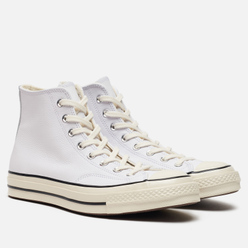 Мужские кеды Converse Chuck 70 Leather White/Black/Egret