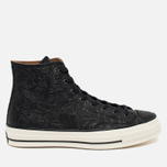 Мужские кеды Converse Chuck Taylor All Star '70 Hi Embossed Floral Black фото- 0