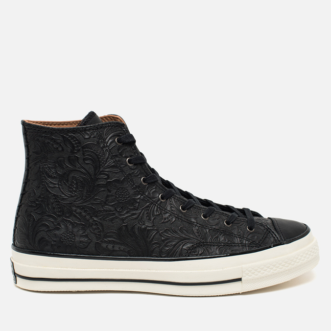 Мужские кеды Converse Chuck Taylor All Star '70 Hi Embossed Floral Black