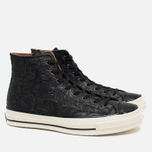Мужские кеды Converse Chuck Taylor All Star '70 Hi Embossed Floral Black фото- 1