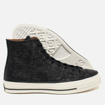 Мужские кеды Converse Chuck Taylor All Star '70 Hi Embossed Floral Black фото- 2