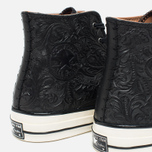 Мужские кеды Converse Chuck Taylor All Star '70 Hi Embossed Floral Black фото- 6