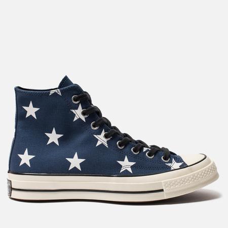 Мужские кеды Converse Chuck Taylor All Star 70 High Navy/White/Egret