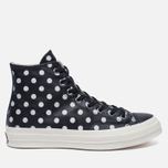 Мужские кеды Converse Chuck Taylor All Star 70 Polka Dots Black/Parchment/Natural фото- 0