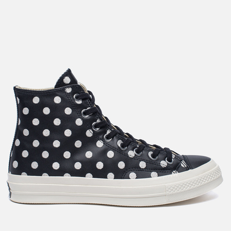 Мужские кеды Converse Chuck Taylor All Star 70 Polka Dots Black/Parchment/Natural