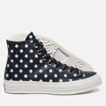 Мужские кеды Converse Chuck Taylor All Star 70 Polka Dots Black/Parchment/Natural фото- 2