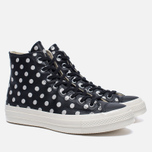 Мужские кеды Converse Chuck Taylor All Star 70 Polka Dots Black/Parchment/Natural фото- 1