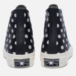 Мужские кеды Converse Chuck Taylor All Star 70 Polka Dots Black/Parchment/Natural фото- 3