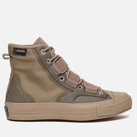 Мужские кеды Converse Chuck Taylor All Star 70 Utility Hiker Gore-Tex Khaki/Neon Orange/Khaki