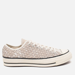 Мужские кеды Converse Chuck Taylor All Star 70 Woven Suede White фото- 0