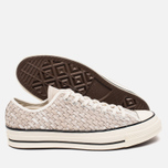 Мужские кеды Converse Chuck Taylor All Star 70 Woven Suede White фото- 2
