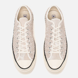 Мужские кеды Converse Chuck Taylor All Star 70 Woven Suede White фото- 4