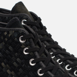Мужские кеды Converse Chuck Taylor All Star Hi 70 Woven Suede Black фото- 5