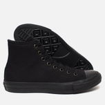 Мужские кеды Converse Chuck Taylor All Star II Hi Black фото- 2