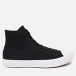 Мужские кеды Converse Chuck Taylor All Star II Hi Black/White/Navy фото- 0