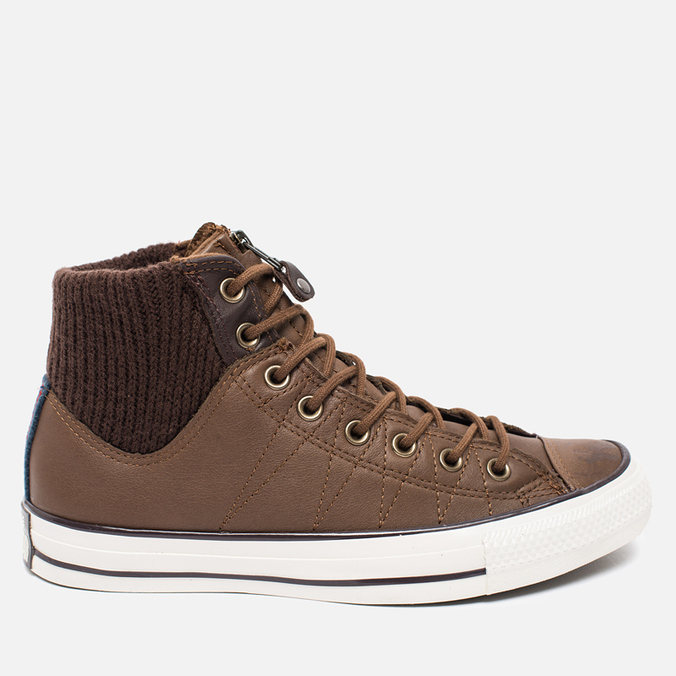 Мужские кеды Converse Chuck Taylor MA-1 Zip Chocolate/Milk