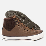 Мужские кеды Converse Chuck Taylor MA-1 Zip Chocolate/Milk фото- 2