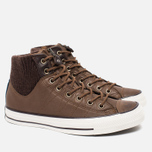 Мужские кеды Converse Chuck Taylor MA-1 Zip Chocolate/Milk фото- 1