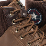 Мужские кеды Converse Chuck Taylor MA-1 Zip Chocolate/Milk фото- 5