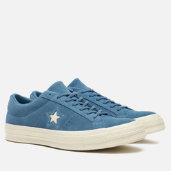 Мужские кеды Converse Chuck Taylor One Star Low Azure Blue