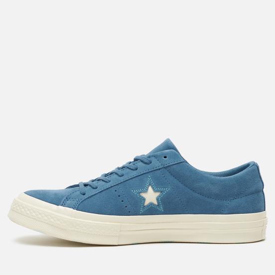 Мужские кеды Converse Chuck Taylor One Star Low Azure Blue