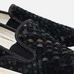 Converse Deck Star 67 Woven Suede Men's Plimsoles Black photo- 5