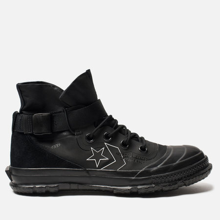 Мужские кеды Converse Fastbreak Mountain Club 18 High Top Gore-Tex Black  Black 8e07a900ade
