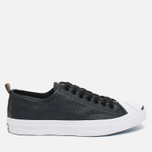 Мужские кеды Converse Jack Purcell Rubberized Canvas Black фото- 0