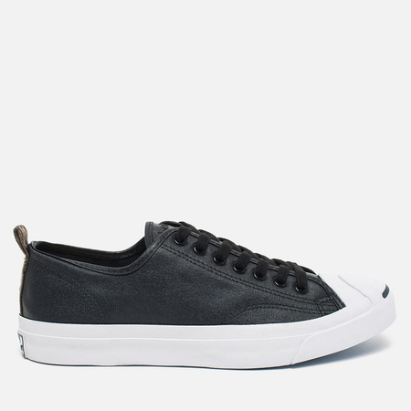 Converse Jack Purcell Rubberized Canvas Men's Plimsoles Black