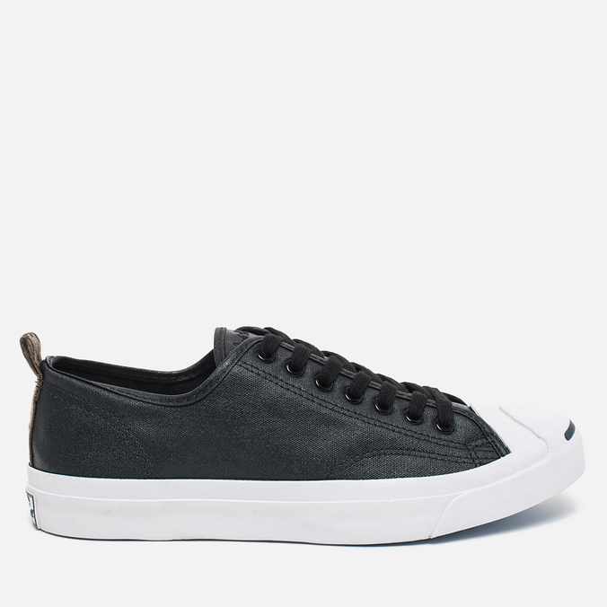 Мужские кеды Converse Jack Purcell Rubberized Canvas Black