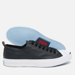 Мужские кеды Converse Jack Purcell Rubberized Canvas Black фото- 2