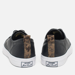 Мужские кеды Converse Jack Purcell Rubberized Canvas Black фото- 3