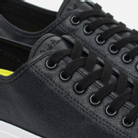 Мужские кеды Converse Jack Purcell Rubberized Canvas Black фото- 5